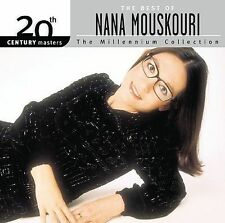 NEW The Best of Nana Mouskouri 20th Century Masters: Millennium Collection