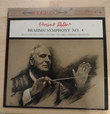 Bruno Walter Brahms Symphony No. 4 LP Columbia MS 6113 6 Eye STEREO VG