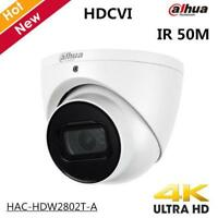 Dahua 4K Starlight WDR HDCVI Camera IR Eyeball Camera IP67 HAC-HDW2802T-A