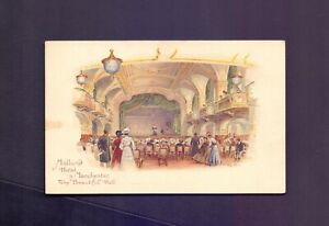 Midland Railway Hotels,Midland Hotel Manchester,The beautiful Hall      (RS10)