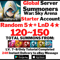 [Global] [Instant] 120-150 Summons NAT 5 + LnD 4 Summoners War Starter Account