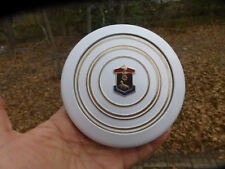 "1940 LaSalle Series 50 White Steering Wheel Horn Button 5"" wide"