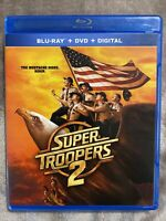 EXCELLENT CONDITION—Super Troopers 2 [Blu-ray+Dvd] Free Shipping