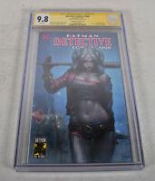 Batman Detective Comics 1000 DC CGC SS 9.8 Jeehyung Lee Signed Trade Variant