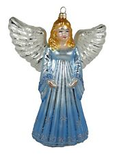 Angel Religious Polish Glass Christmas Tree Ornament Decoration 110208