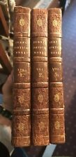 1823 THE POETICAL WORKS OF ROBERT BURNS Scottish Poetry SCOTLAND (3 Volumes)