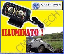 INCLINOMETRO STRUMENTAZIONE SUPPLEMENTARE ! PER AUTO FUORISTRADA JEEP SUV CAMPER