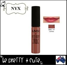 NYX SOFT MATTE LIP CREAM SMLC19 CANNES (Matte muted mauve) AUSTRALIA