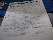 Studebaker 1952 Mobil lubrication Bulletin    (9819)
