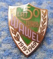 WAWEL KRAKOW 50 JUBILAUM /1919-1969/ POLEN POLAND FUSSBALL FOOTBALL ANSTECKNADEL