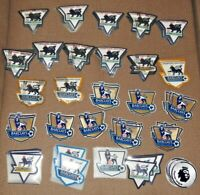 ALL Premier league champions gold patches badges trought the years! RARE NEW!!!