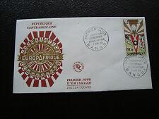 REPUBLIQUE CENTRAFRICAINE - enveloppe 1er jour 7/11/1965 (cy37)