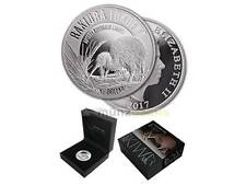 1 $ Dollar Great Spotted Kiwi Neuseeland  2017 1 oz Unze Silber Silver PP Proof