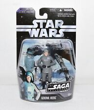 Star Wars General Veers Action Figure 007 Empire Strikes Back w/ Hologram Saga