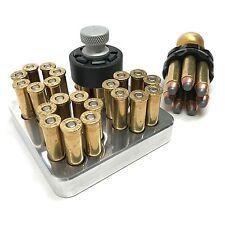 MAKERSHOT .38 Special / .357 Magnum Revolver Range Loading Tray, 7 Shot Block