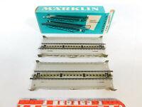 CD812-0,5# 2x Märklin H0 7168 Blech-Rampenstück (M-Gleis) für Brücke, NEUW+OVP