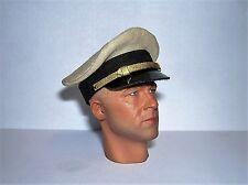 Banjoman 1:6 escala Custom Segunda Guerra Mundial U.S. Navy Cap