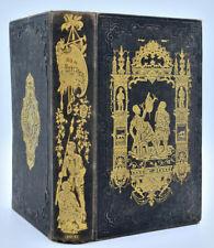 Cervantes : DON QUICHOTTE DE LA MANCHE. Cartonnage Lehuby, vers 1840