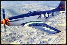 24 Original Slides P-51 MUSTANG 413334 Air to Air & Ground Shots 1994 Beautiful!