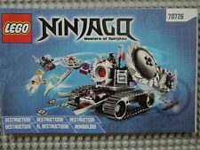 lego ninjago 70726 instructions