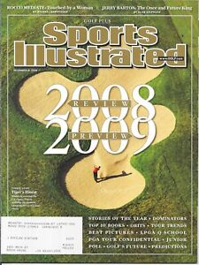Sports Illustrated SI Golf Plus TIGER WOODS 2008 Review Preview PMS Mint!