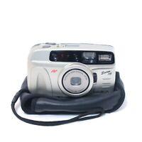 "Minolta Compact 35mm Film Camera - Retro 90's  ""Zoom 70"" + Case + TESTED"