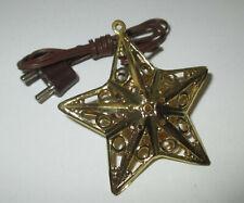 Kahlert - Star Gold Filigran for Nativity Scenes 3,5 Volt ca.40mm New/Boxed