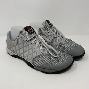Reebok Crossfit Nano 4.0 CF74 Womens 9 Gray Lightweight Duracage Training Shoe