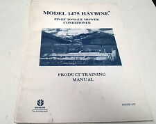 1997 NEW HOLLAND 1475 HAYBINE  MOWER CONDITIONER  Training Manual