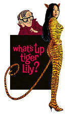 WHAT'S UP TIGER LILY DVD 1ST WOODY ALLEN JAPANESE SPY MOVIE W DIALOGUE DUBBED IN