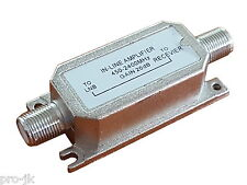 Ampli de ligne Satellite / Télévision 20dB - Amplificateur SAT / TV / TNT