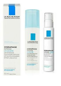 La Roche-Posay Hydraphase Intense UV Legere, UV Riche & Serum, Hyaluronic Acid