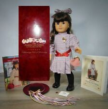 American Girl Pleasant Company SAMANTHA DOLL In Meet Outfit 2 Books Brooch Box