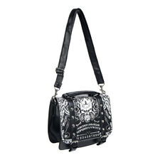 Banned Apparel Ouija Satchel Black/White Gothic Occult Womens Small Handbag/Bag
