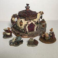 Boyds Bearly Built Villages The Tea Cozy Cottage + Accessories - 2E/172 - S4