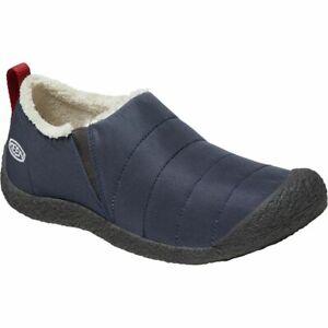 KEEN Men's Howser II Loafer Slide Slippers India Ink/Pristine - 1021955