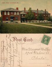 LANSDOWNE PA PUBLIC SCHOOL 1911 ANTIQUE POSTCARD