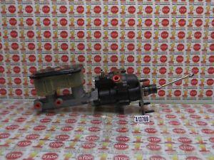 1995-2000 CHEVROLET C3500 BRAKE MASTER CYLINDER W/ BOOSTER 19209223 OEM