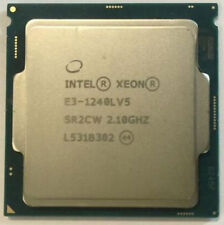 Intel Xeon E3-1240L V5 2.1GHz LGA 1151 SR2CW 25W 4Core Cach Server Processor