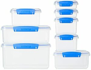 Food Storage and Sandwich Box Container Set 16Piece
