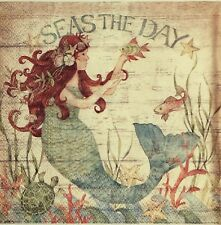Decoupage paper napkins 4.Servilletas de papel decoradas, decoupage,seas the day