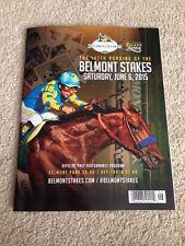 Triple Crown American Pharoah Belmont Stakes Program Victor Espinoza