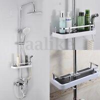 Bathroom Pole Shelf Shower Storage Caddy Rack Organiser Tray Holder Accessory @