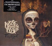 ZAC BROWN BAND UNCAGED CD NEW SEALED THE WIND AMOS LEE FREE UK POST