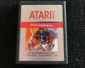 RealSports Football (Atari 2600, 1982) GAME CARTRIDGE ONLY ~TESTED~