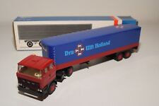 ± LION CAR DAF 2800 TRUCK WITH TRAILER DRU ULFT N MINT BOXED