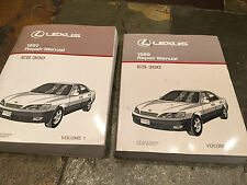 1999 Lexus ES300 Service SHOP Repair Manual Set