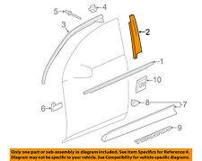 GM OEM Front Door-Applique Window Trim Right 84006057