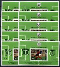 Fußball Paraguay Block 343 Mit 3227 ** Postfrisch Fußball Wm 1978 #sf702