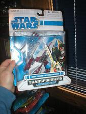 STAR WARS TRANSFORMERS CROSSOVER- SHOCKTROOPER TO V-WING STARFIGHTER, UNOPENED